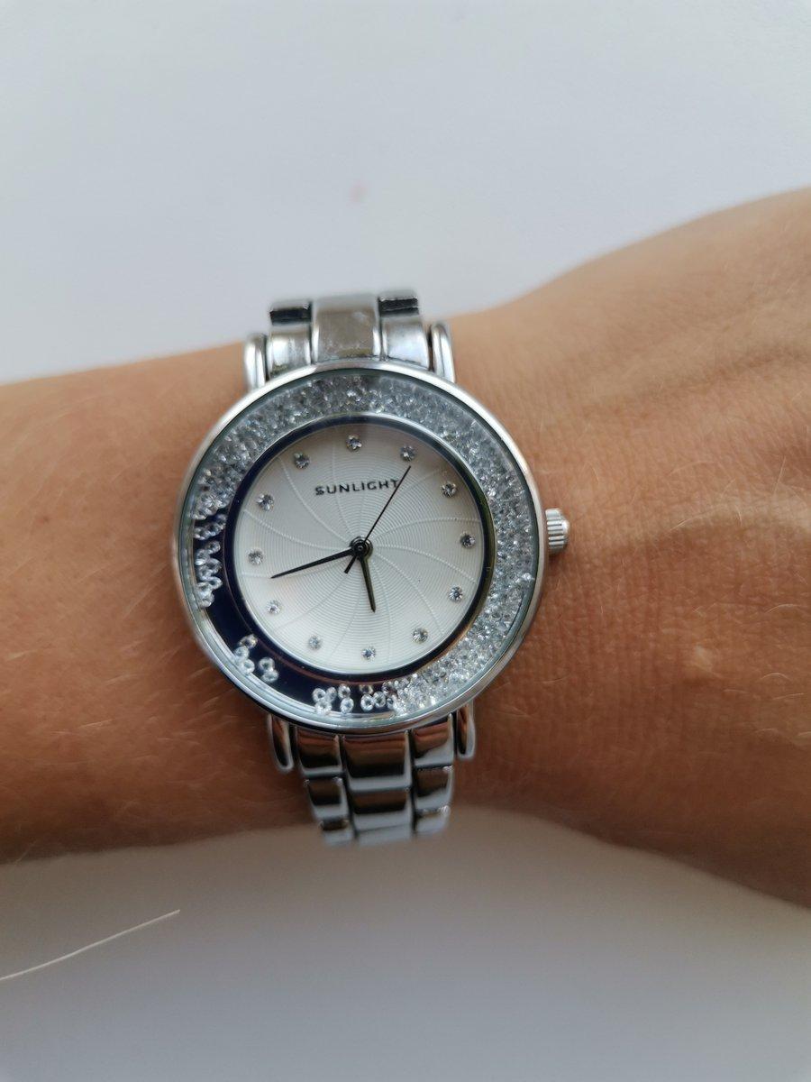 Часы цвет серебро