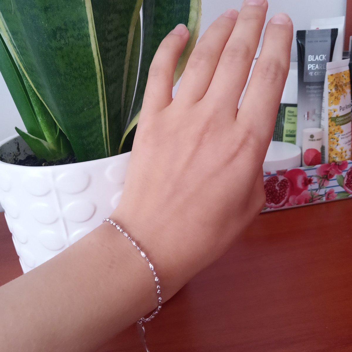 Серебряный браслет, произведено в Италии