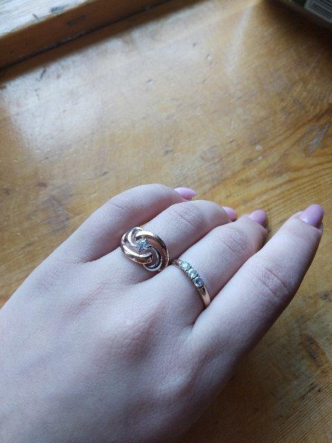 Кольцо отличное 🥰