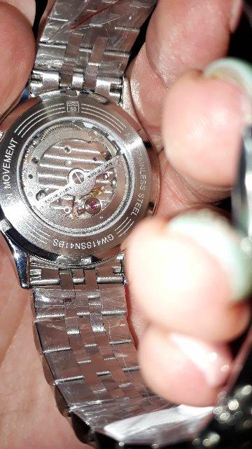 Спасибо большое, часы очень понравились