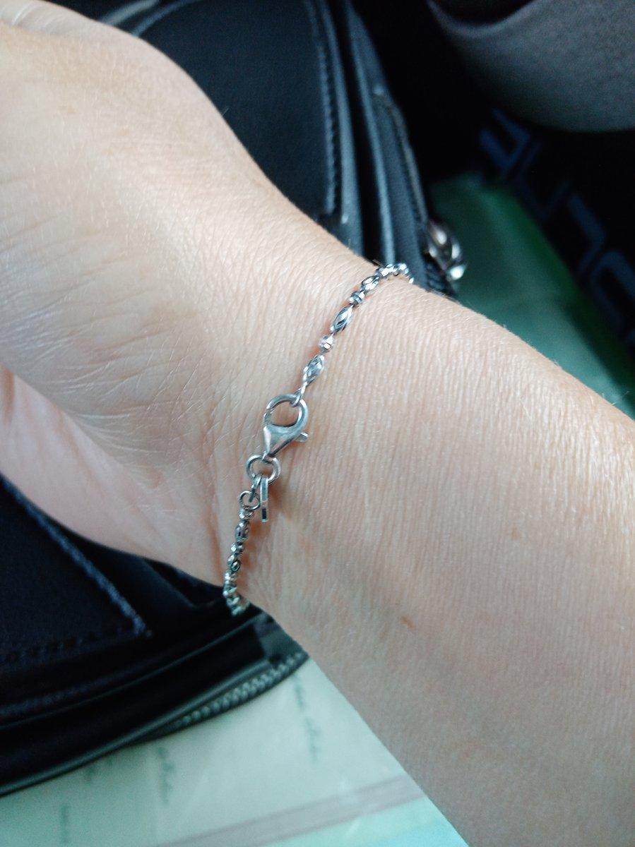 Покупала браслет серебро