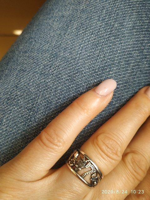 Шикарное кольцо.символ удача.ношу с удовольствием