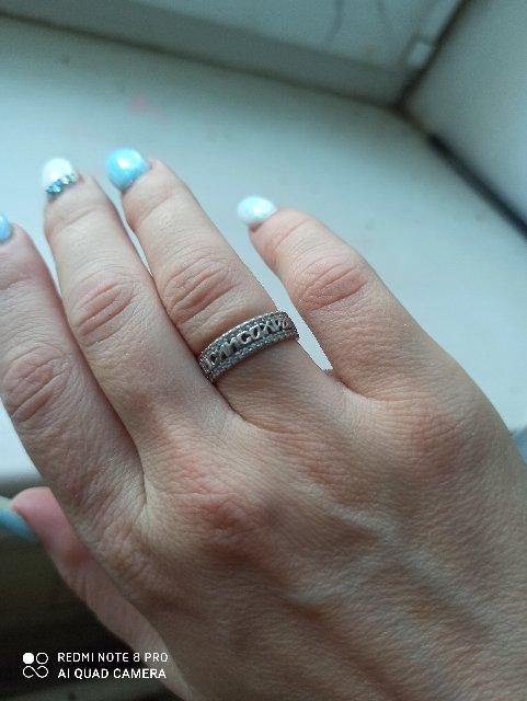 Кольцо серебряное!