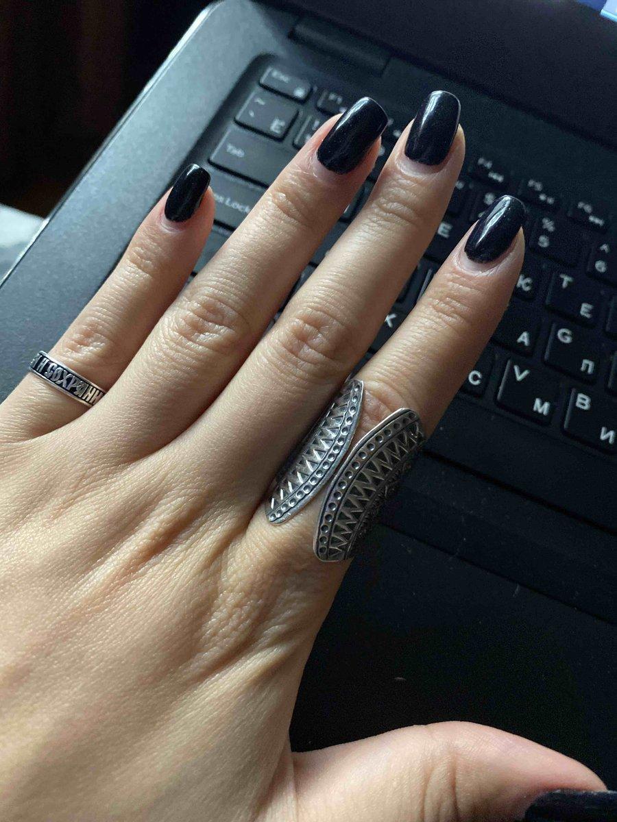 Кольцо в этно стиле