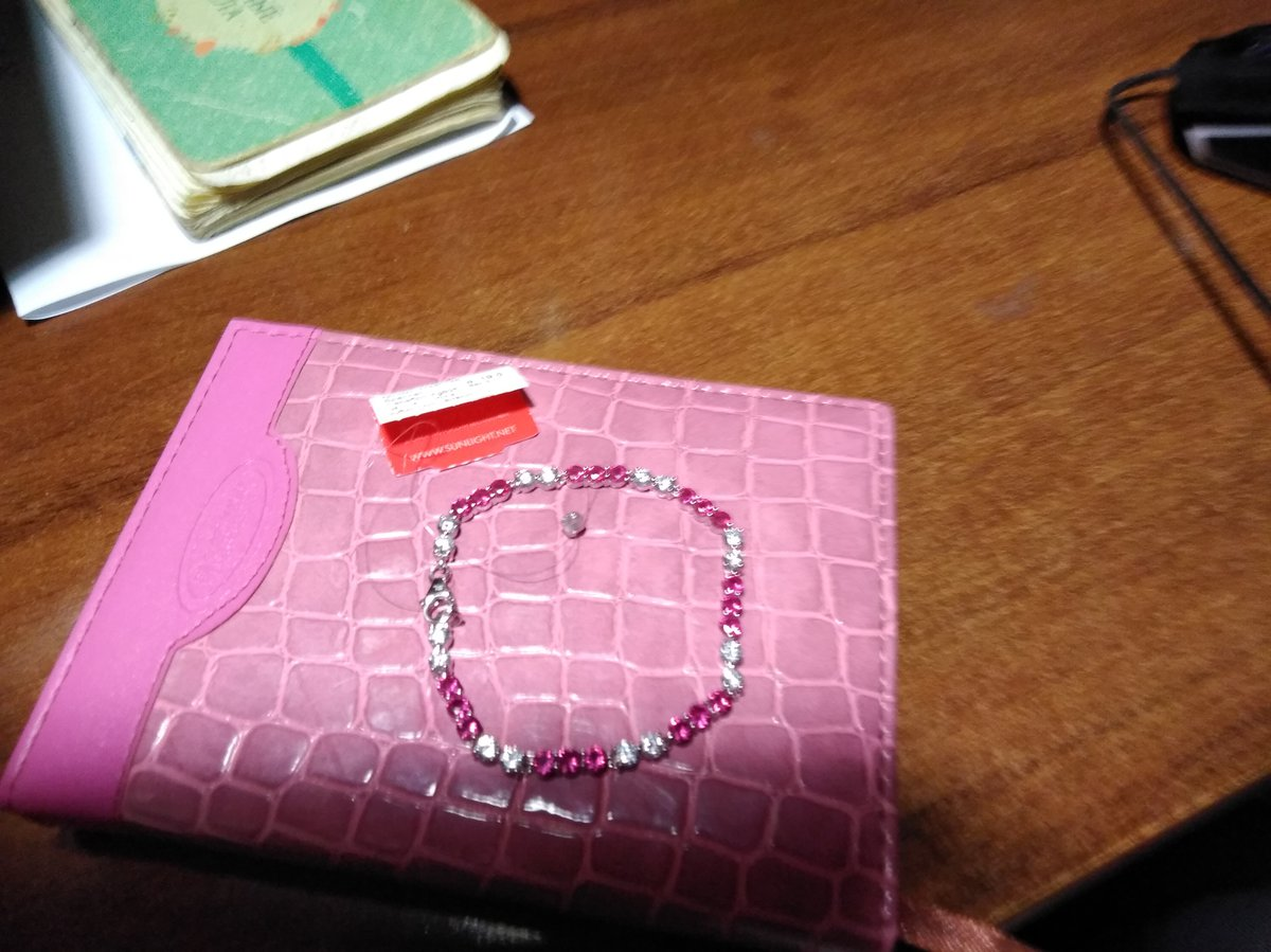 Рубиновый браслет