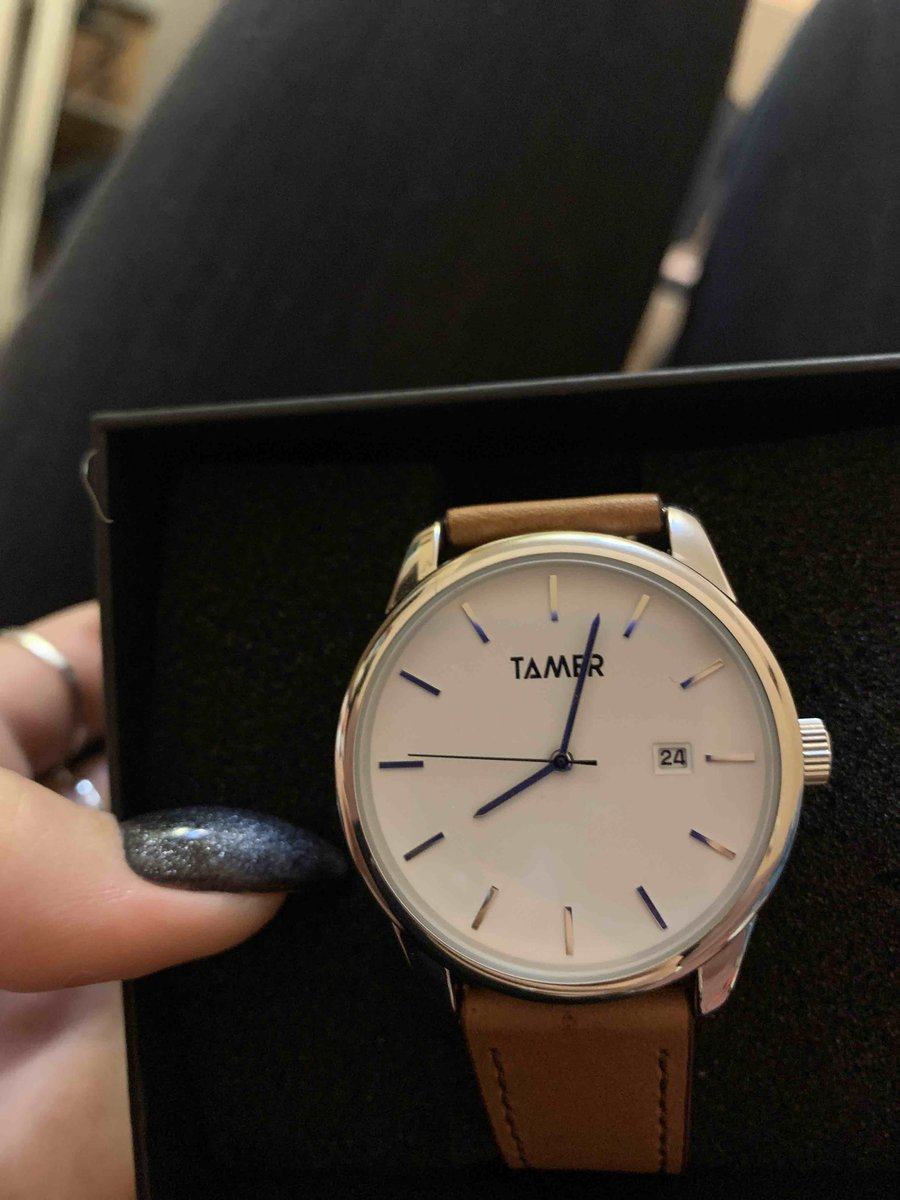 Купила часы)