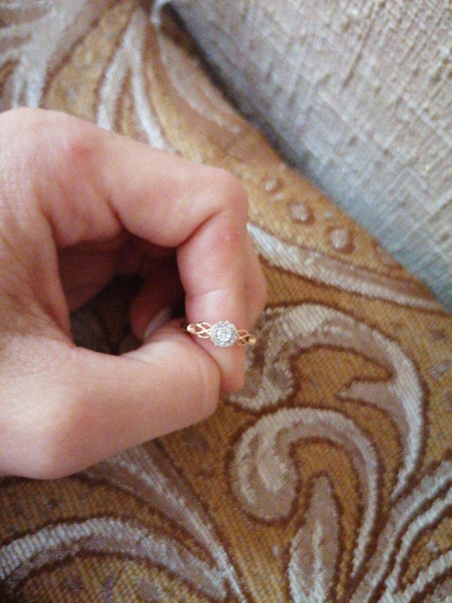 Золотое кольцо, 585 проба