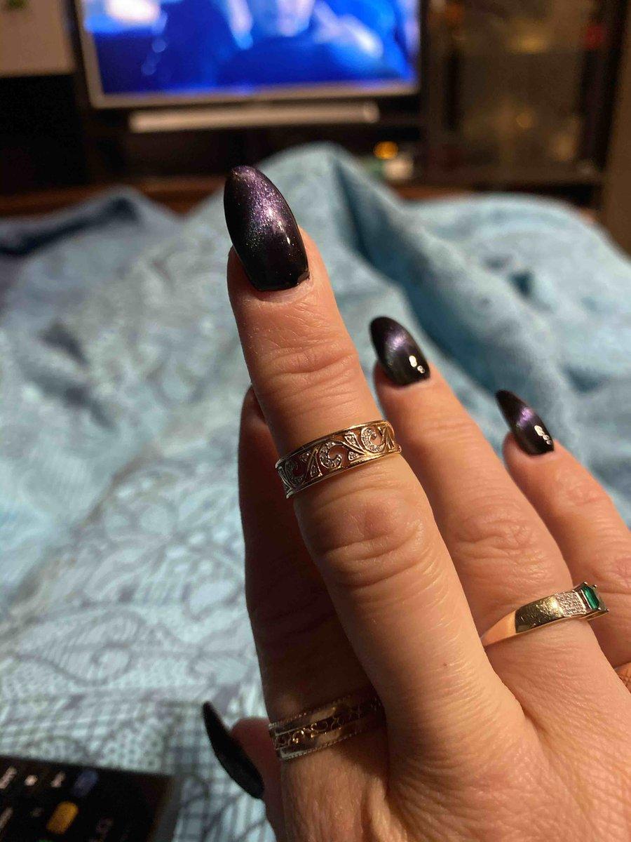 Красивое кольцо у меня теперь комплект