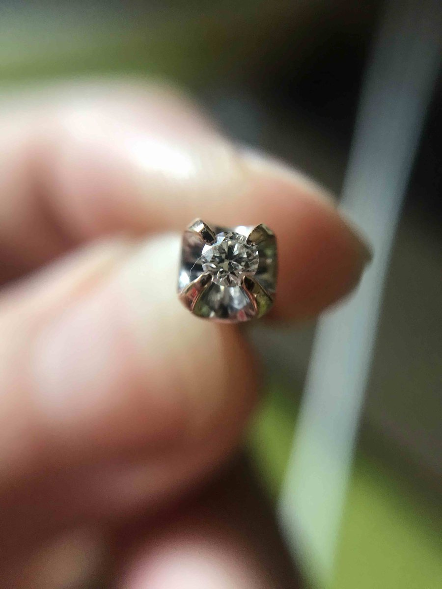 Мои идеальные первые бриллианты