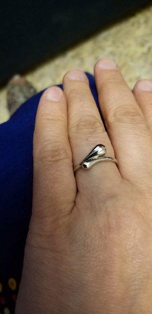 Необычное кольцо из серии концепт.