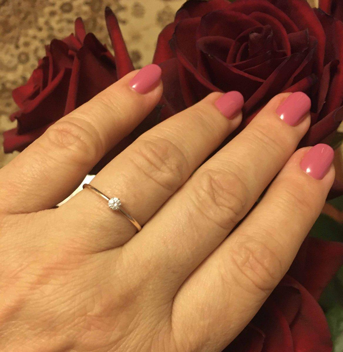 Простое , но нежное кольцо.