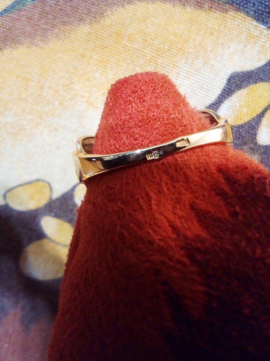Кольцо золотое с топазом бренд аквамарин