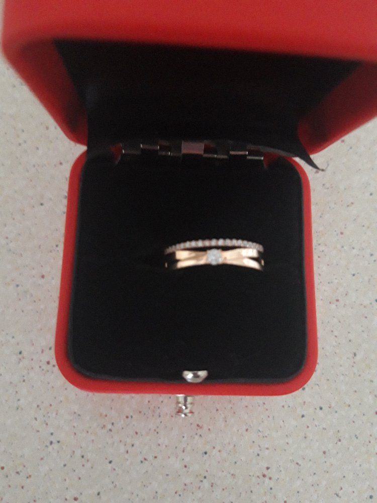 Купила кольцо в парк хаусе