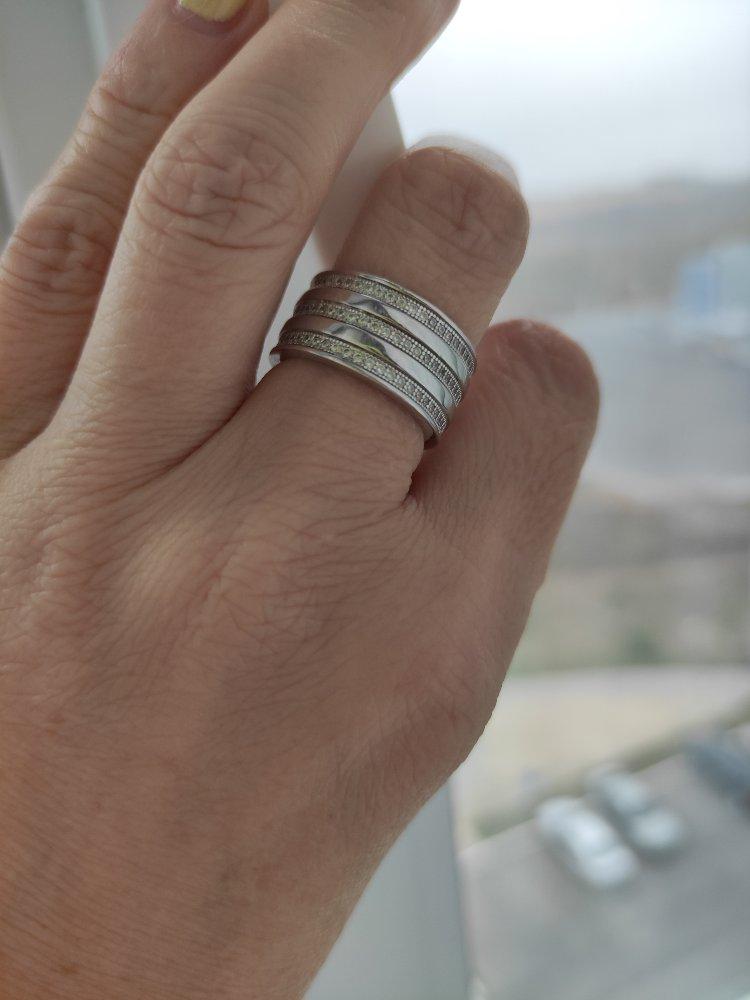 Очень красивое, стильное кольцо