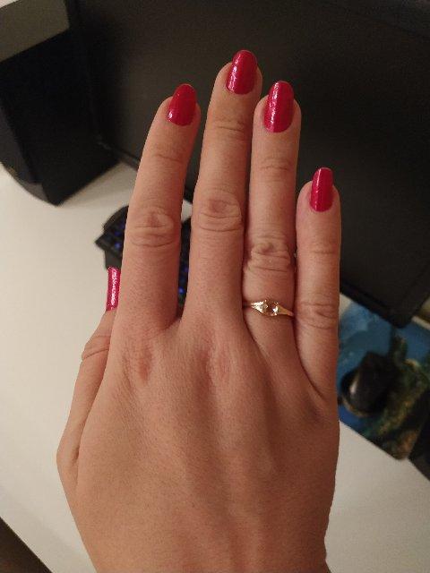 Очень красивое кольцо, украшение гармоничное нежное