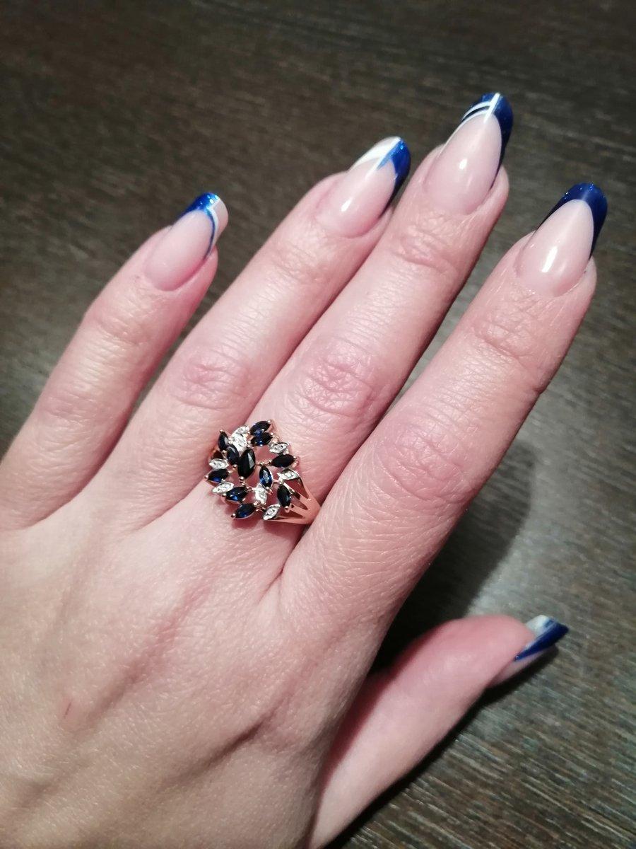 Отзыв о приобретении великолепного кольца с сапфирами и бриллиантами