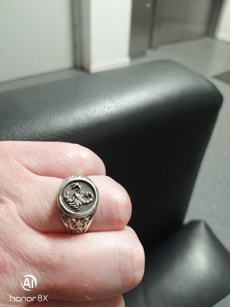Стильное кольцо
