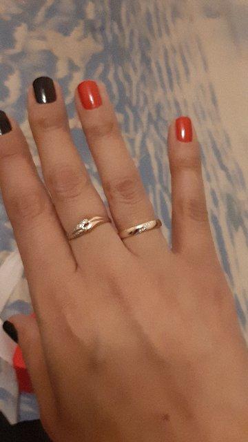 Кольцо просто супер смотриться очень красиво