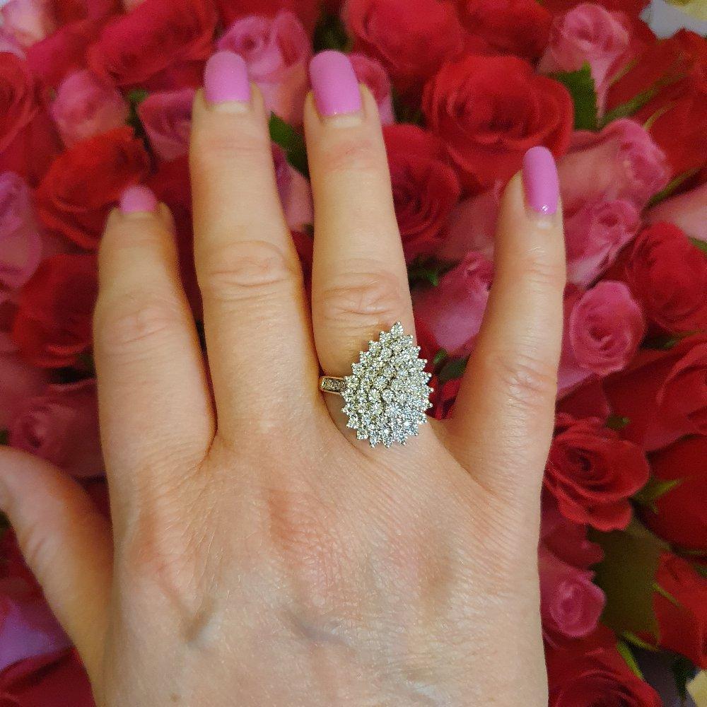 Невероятное по красоте кольцо!