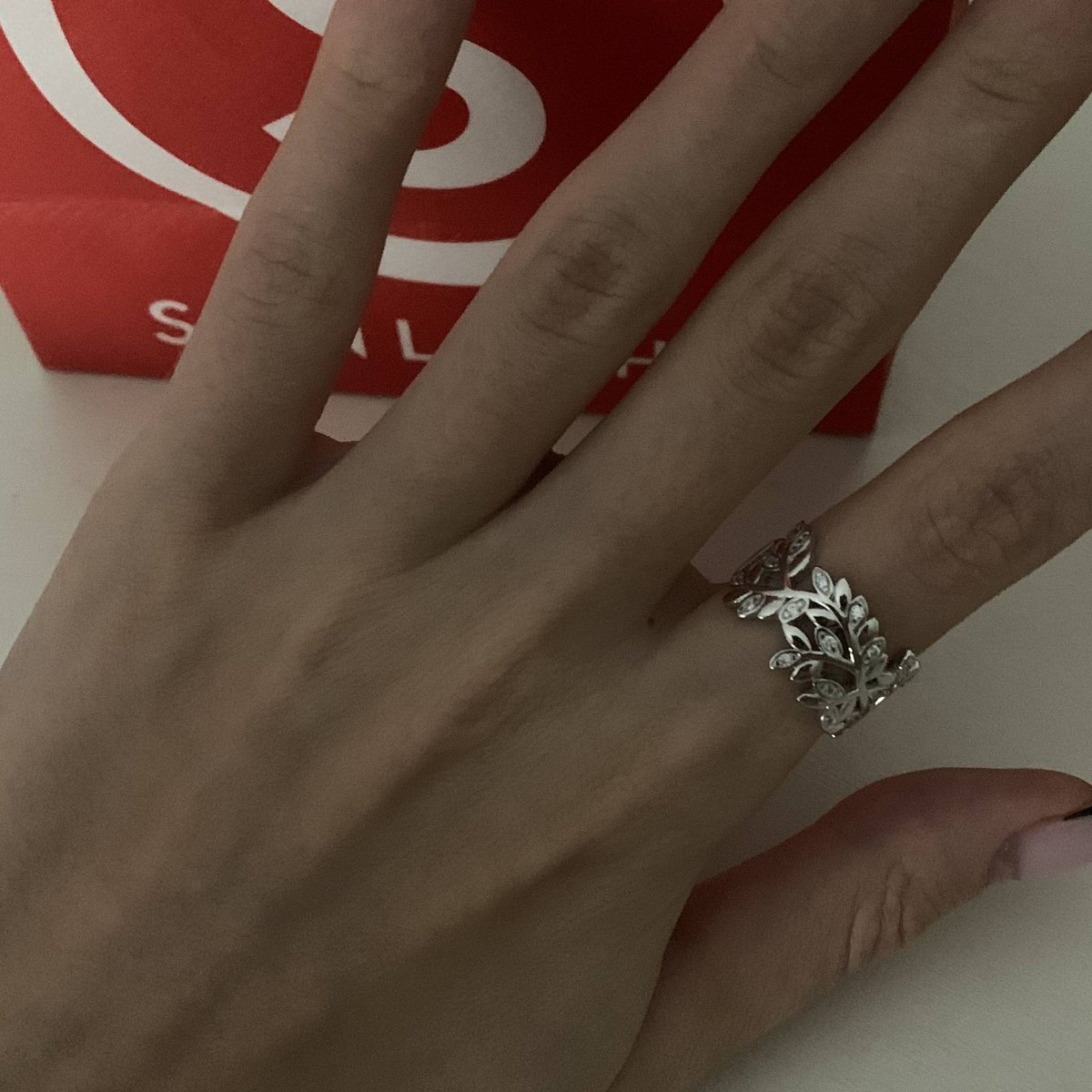 Я просто влюблена в это кольцо