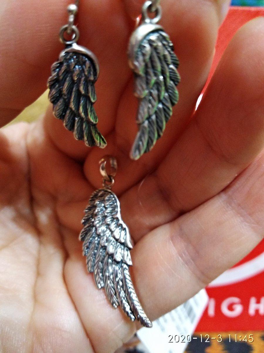 Кулончик крыло
