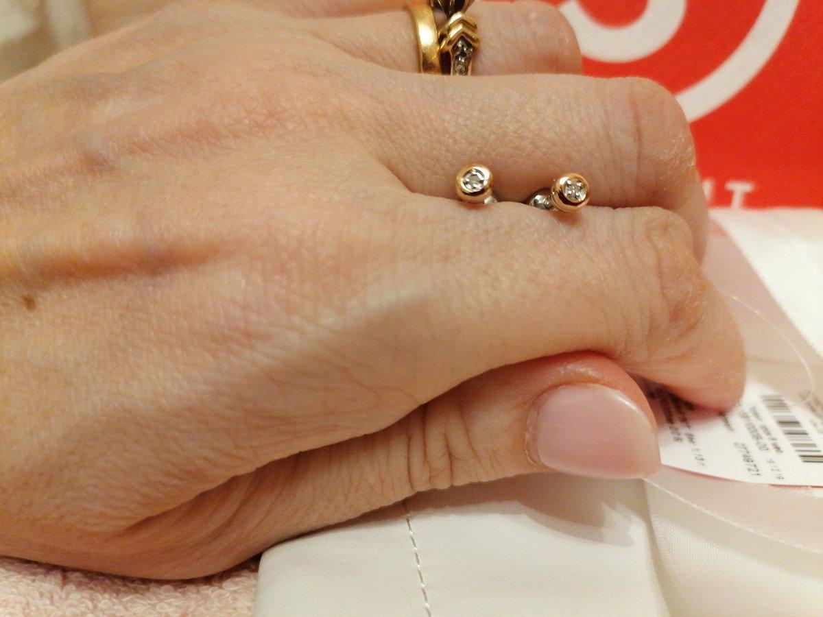 Серьги с якутскими бриллиантами.
