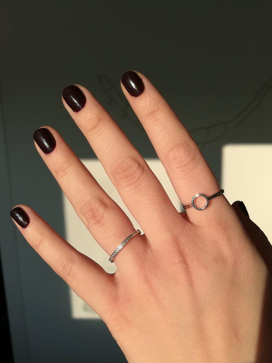 Интересное минималистичное кольцо