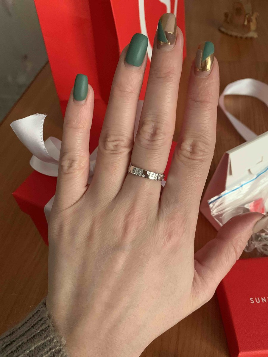 Стильное кольцо 👌