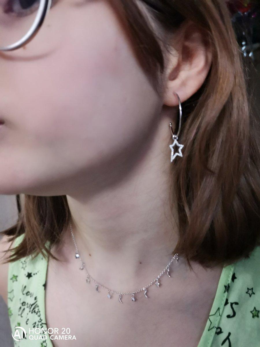Серёжки серебрянные