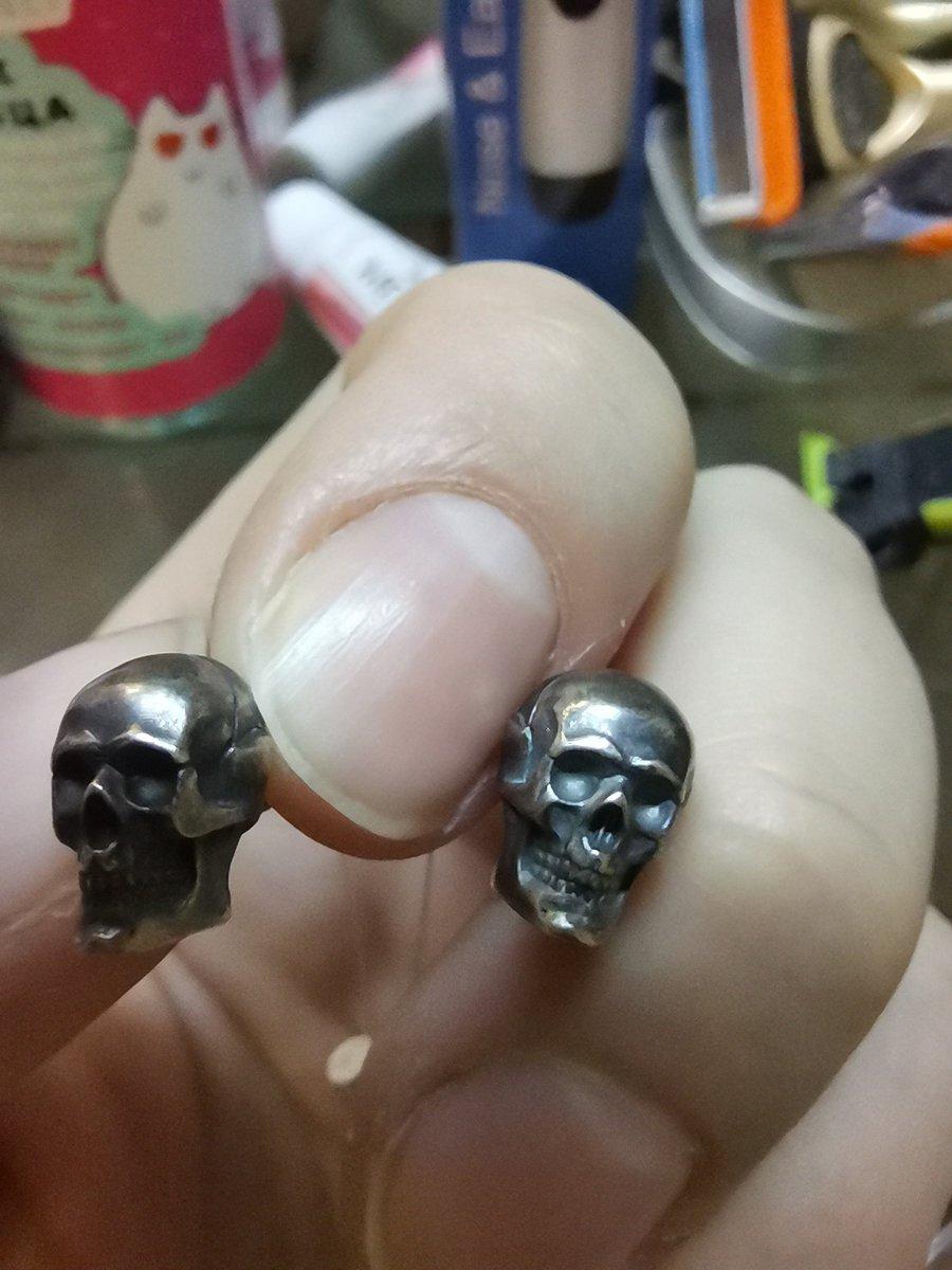 Серьги черепа 💀