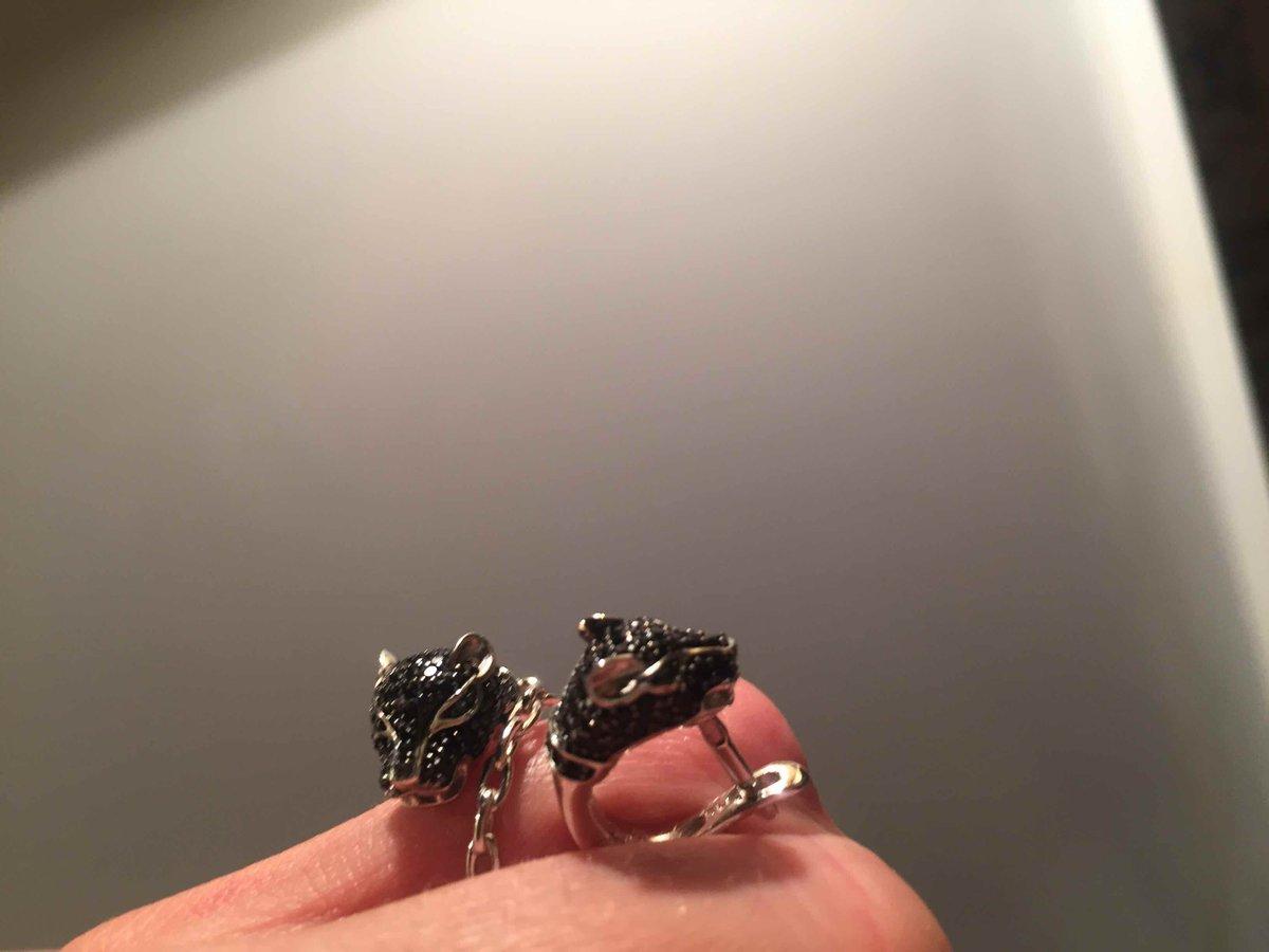 Серьги кольцо блеск