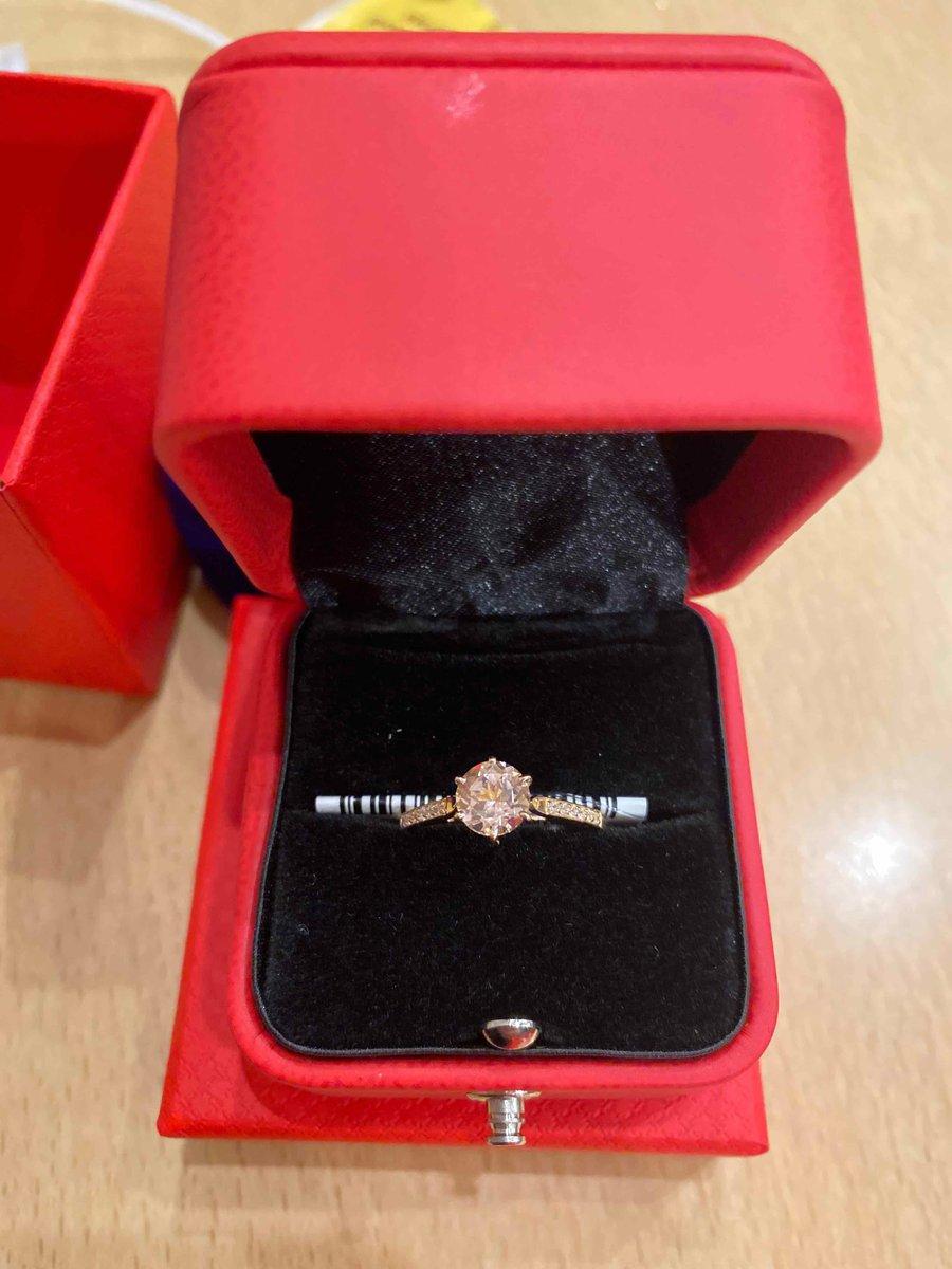 Красивое и очень нежное кольцо