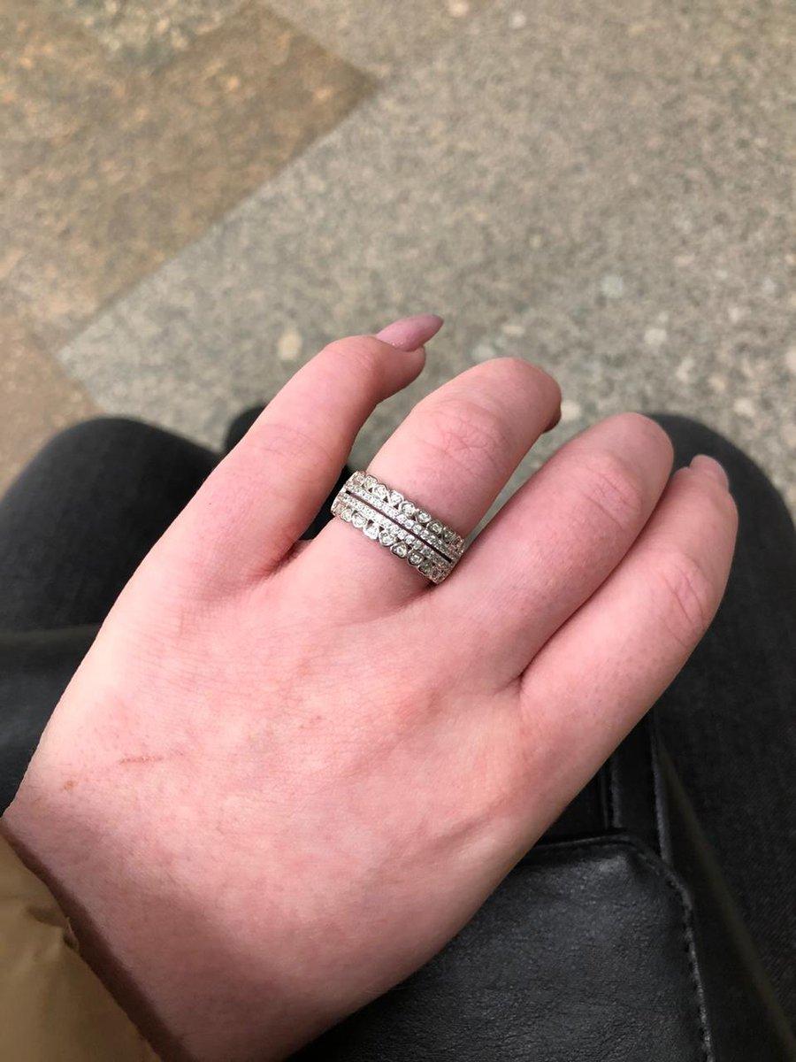 Серебренное кольцо
