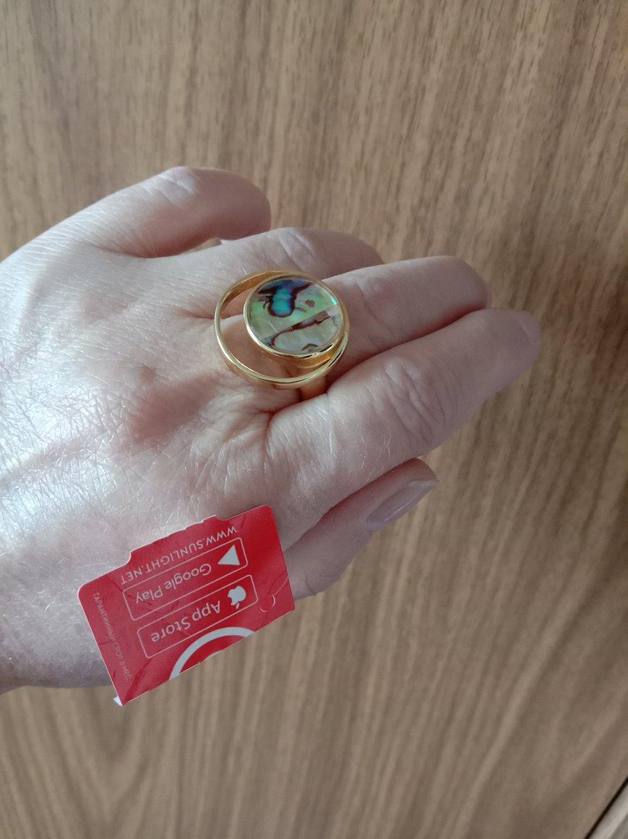 Кольцо с ракушками.