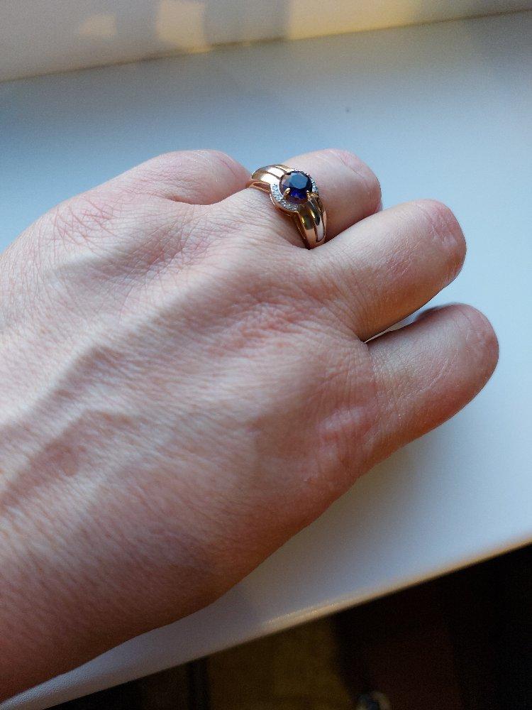 Кольцо с сапфиром давно хотела