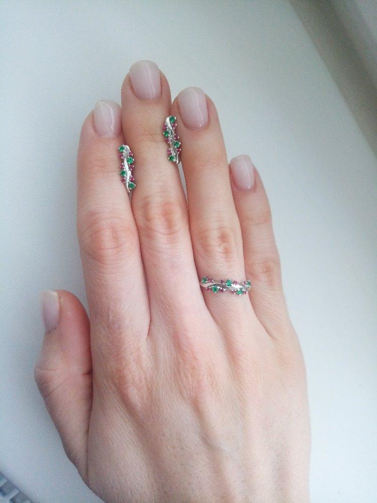 Разноцветное кольцо