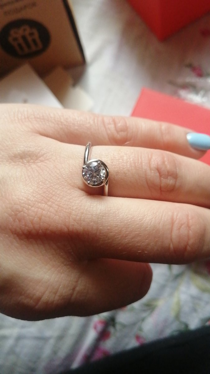 Кольцо подошло идеально