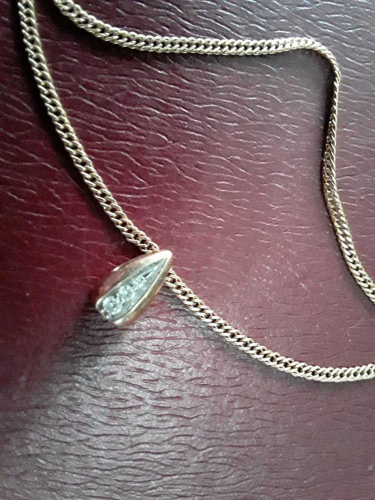 Подвеска с якутскими бриллиантами