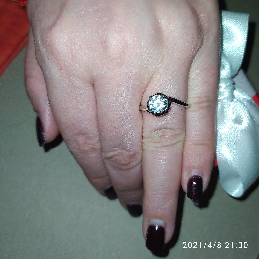Прекрасное серебряное кольцо