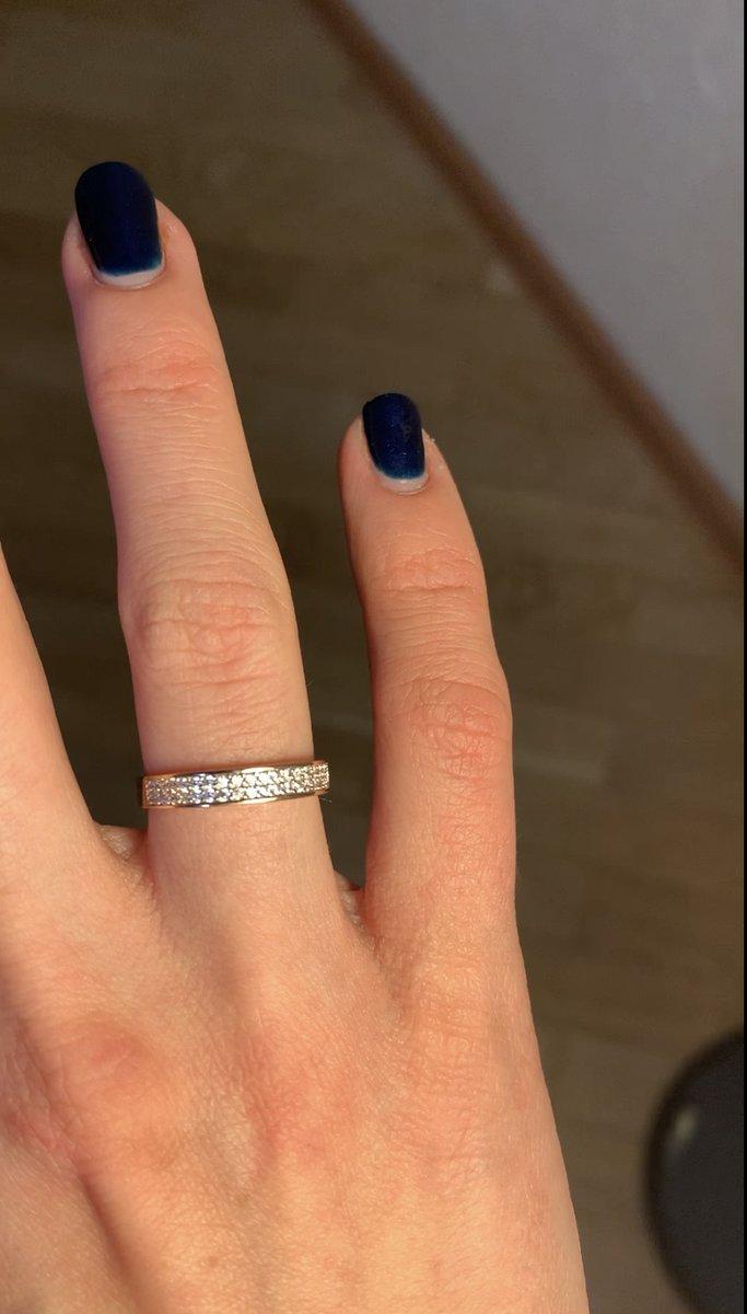 Кольцо на безымянный палец