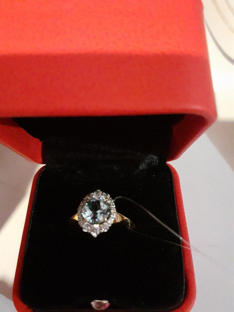 Топаз кольцо