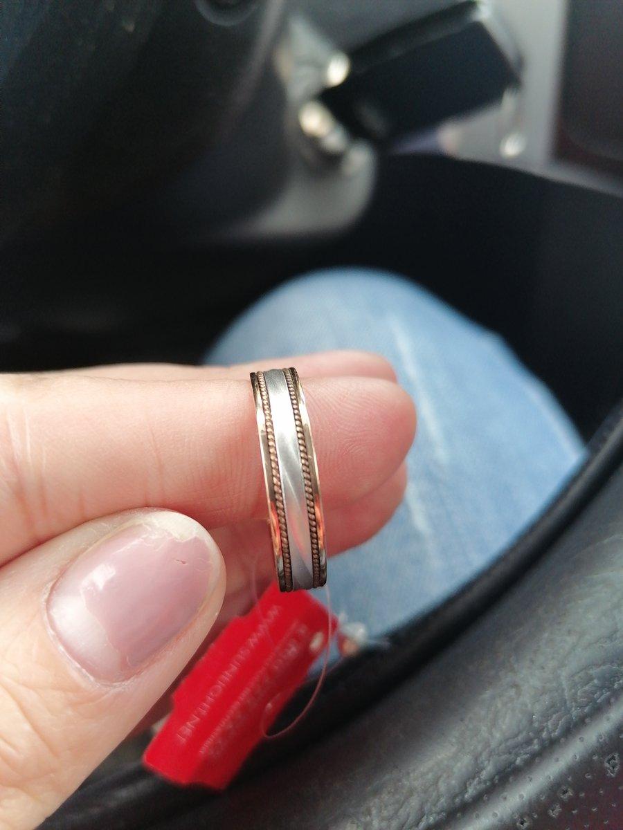 Кольцо на роспись.