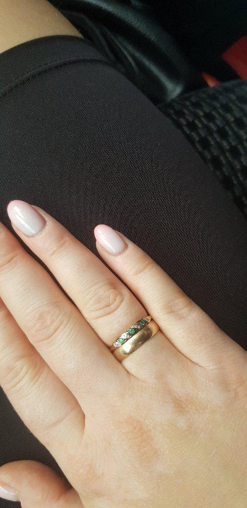 Понравилось кольцо с изумрудом и с бриллиантами