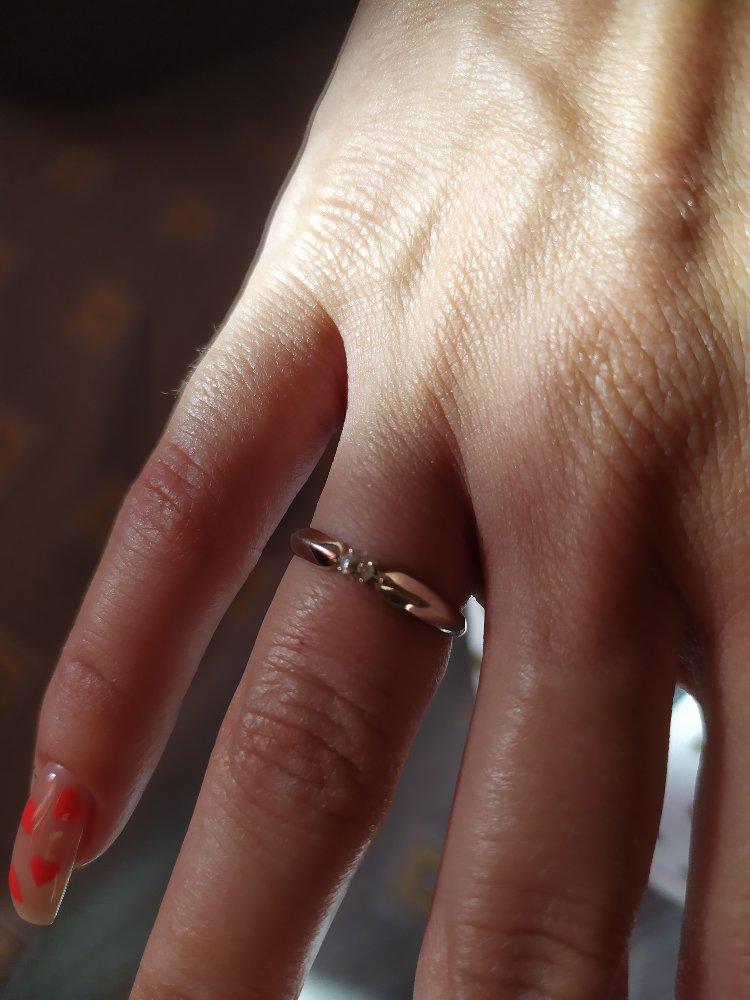 Отличное колечко для помолвки