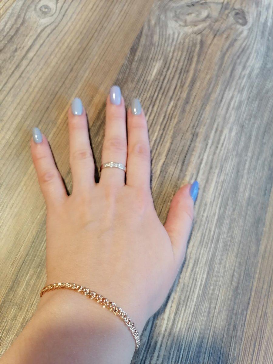 Кольцо золотое с бриллиантами!