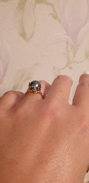 Красивое и яркое кольцо