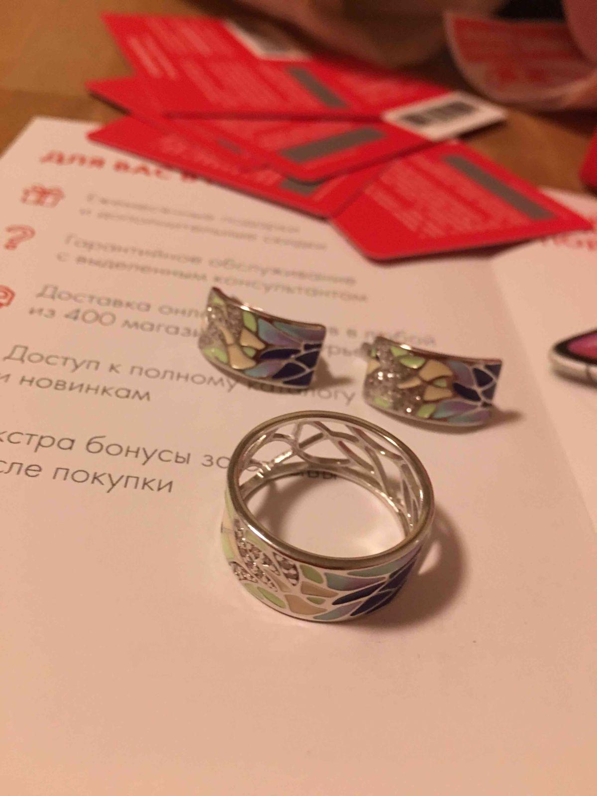 Прекрасные модные серебряные серьги с эмалью и феонитами для настроения!!!!