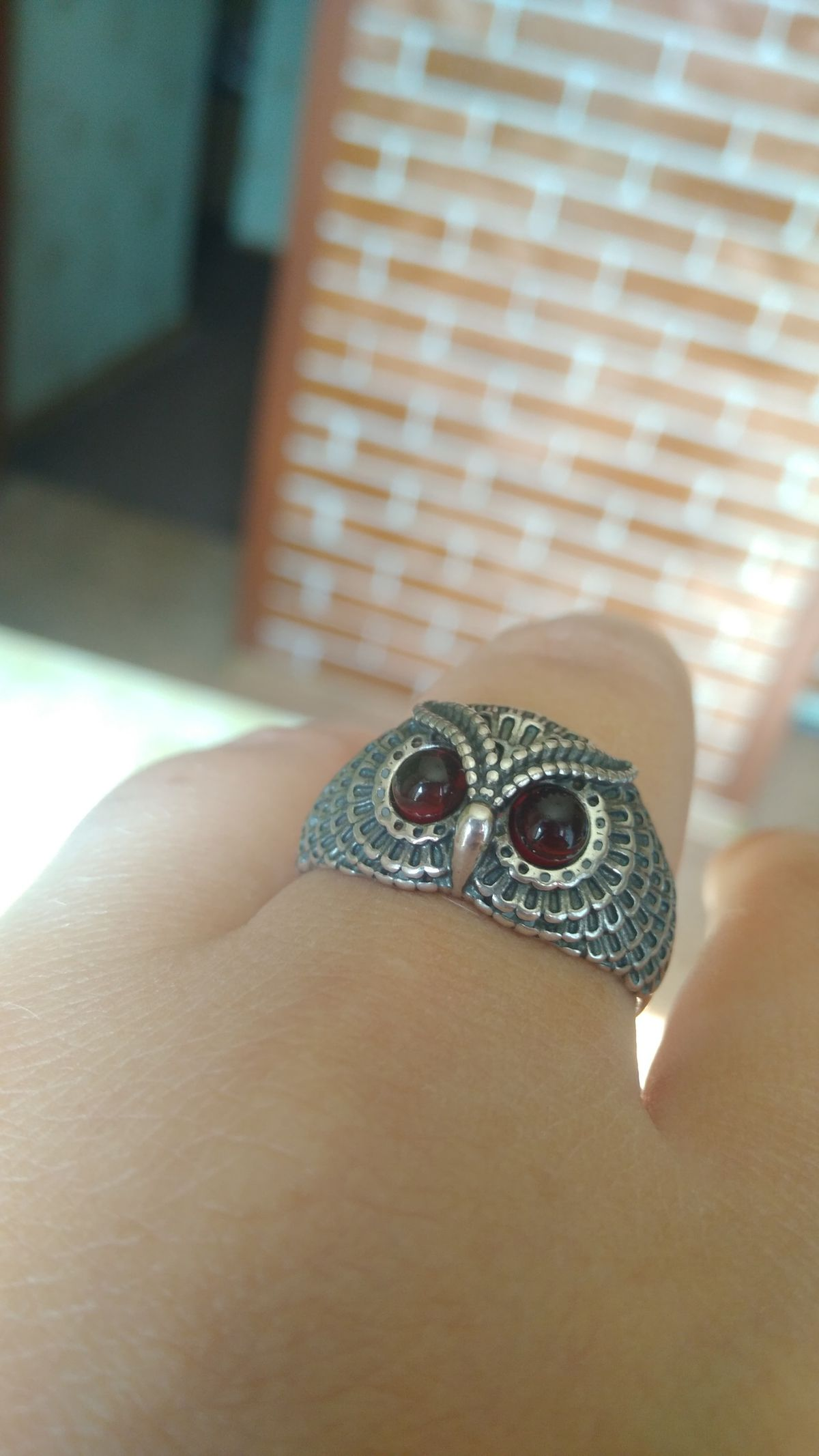Совушка-кольцо