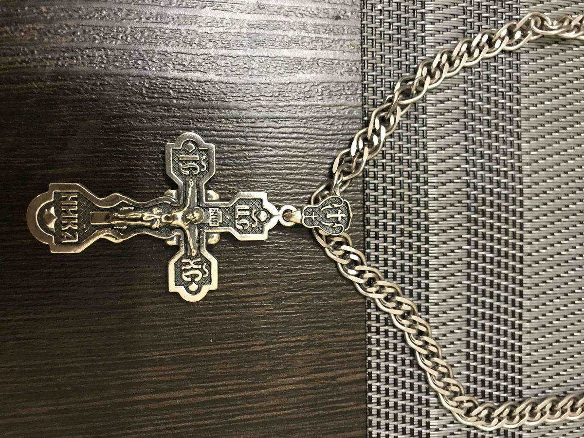 Отличный крест! Доволен покупкой!