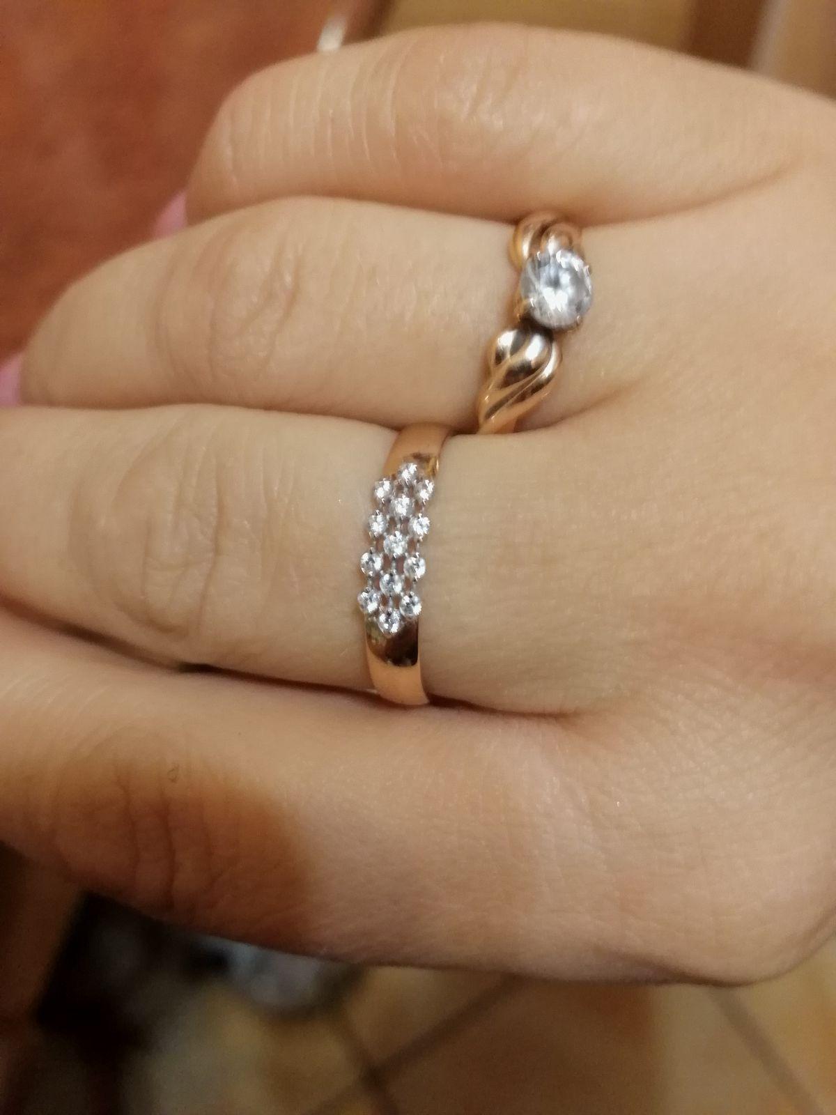 Кольцо на пальчик